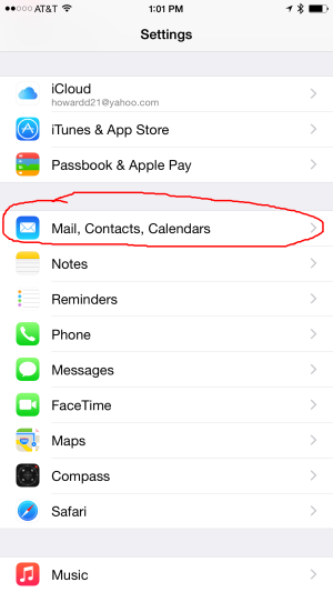 Apple IOS iPhone iPad Exchange Email Setup
