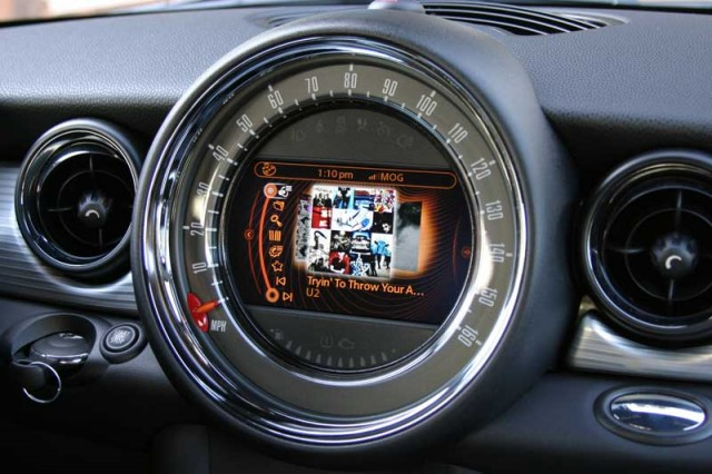 Mini Cooper Connected Dash