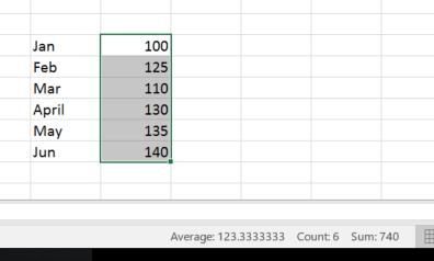 Excel Rollover Aggregates